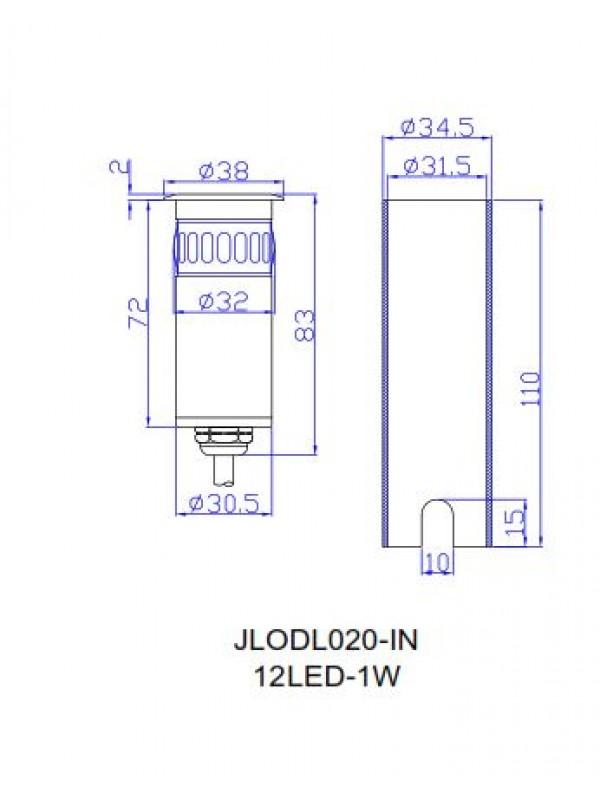 Spot Paviment Exterior JLOLD020
