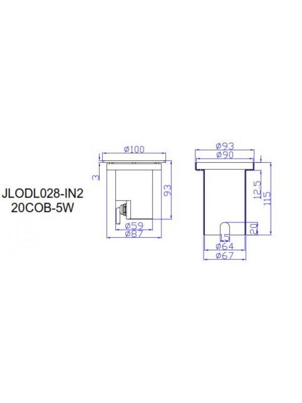Spot Paviment Exterior JLOLD028