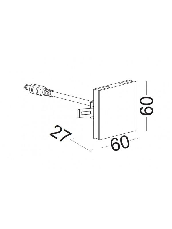Lampa exterior  JLODL043