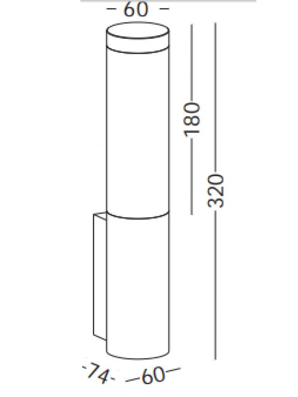 Lampa exterior JLWA211