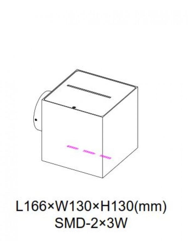 Lampa exterior JLWA300B-BK