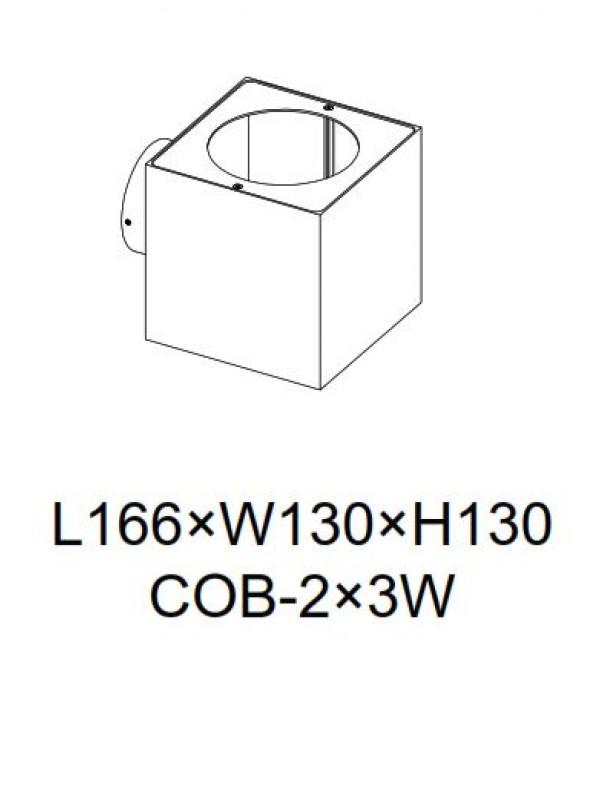 Lampă Exterior JLWA300E-BK