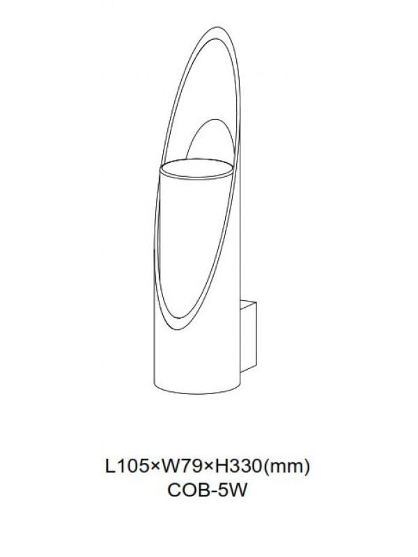 Lampa exterior  JLWA311
