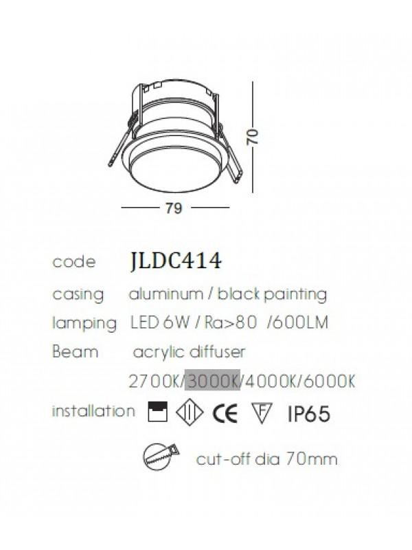 Lampă Downlight  JLDC414