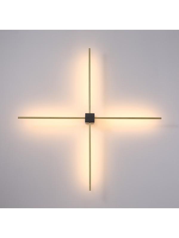 Lampa de perete JLWA393-BK/GD