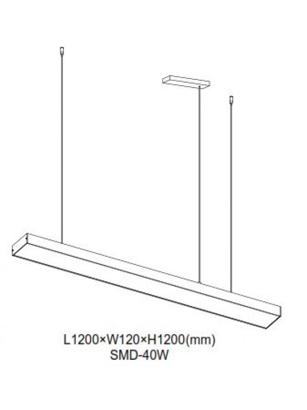 Pendule Birou JLPL160 -WT