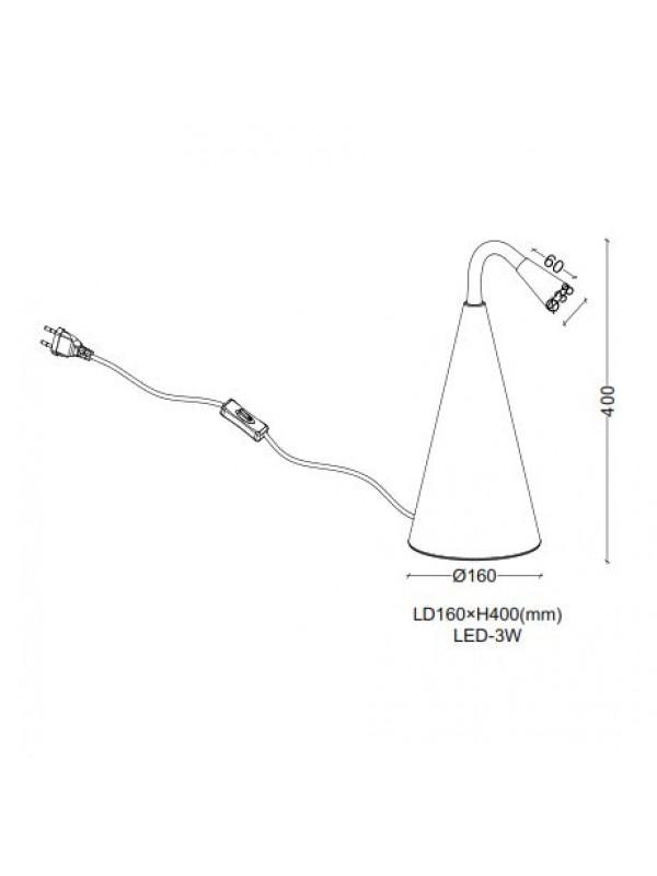 Veioze JLTL018-WT