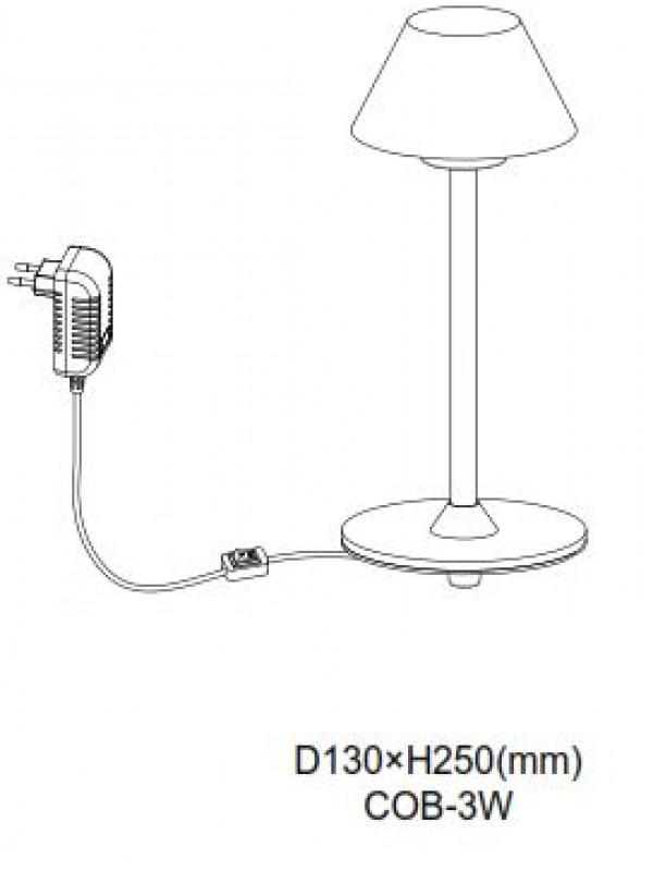 Veioze JLTL030-BK