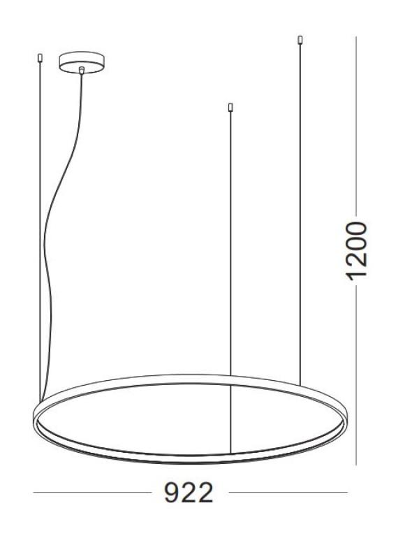 Pendul Cerc JLPL255