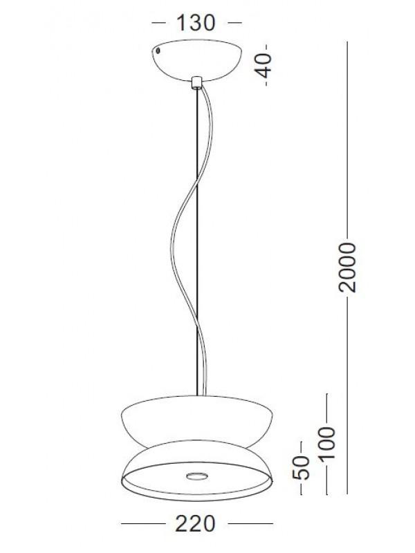 Pendul Diabolo JLPL335 -BK