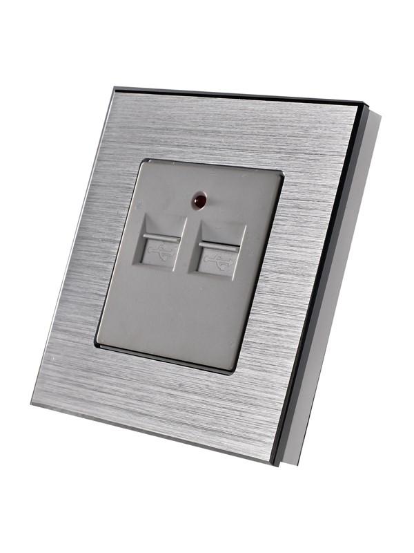 Priza USB 3.1A JLM2-114-SL