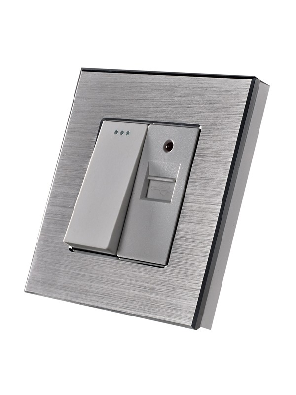 Întrerupător + USB 1 A JLM2-168 -SL