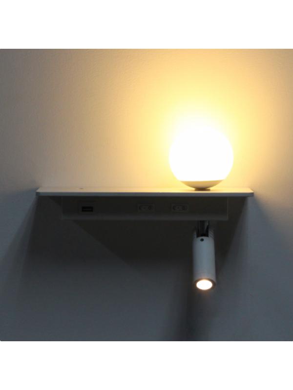 Lampă pentru citit JLWALUK05-5W+3W