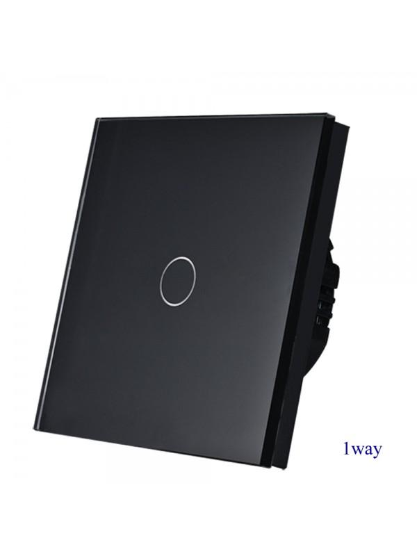 Întrerupătoare Simplu Touch JLS1-101-BK