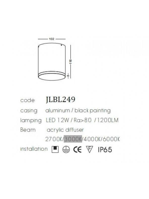 Lampă downlight  JLBL249