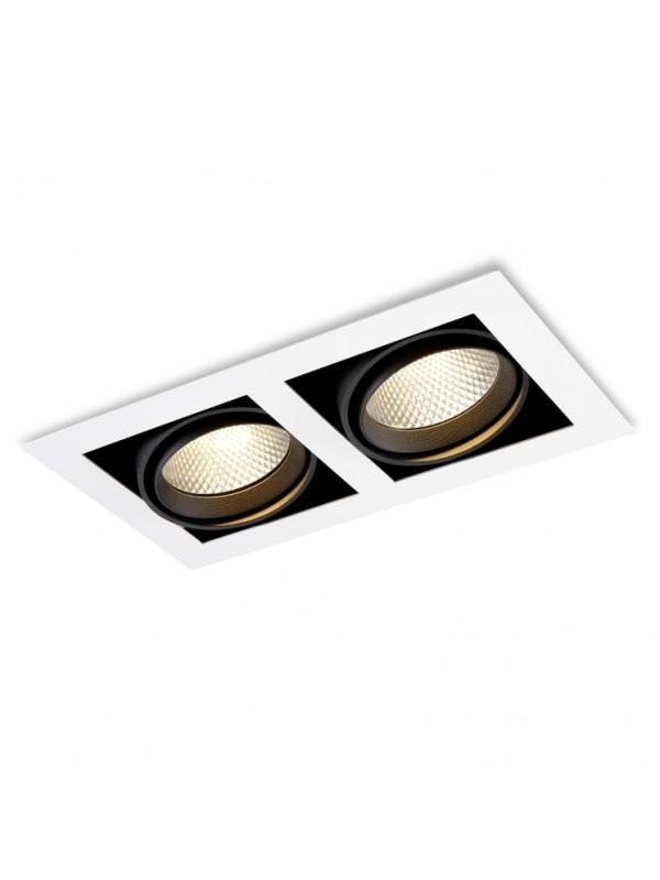 Lampă Spot Grile Dublu JLDC212-20W