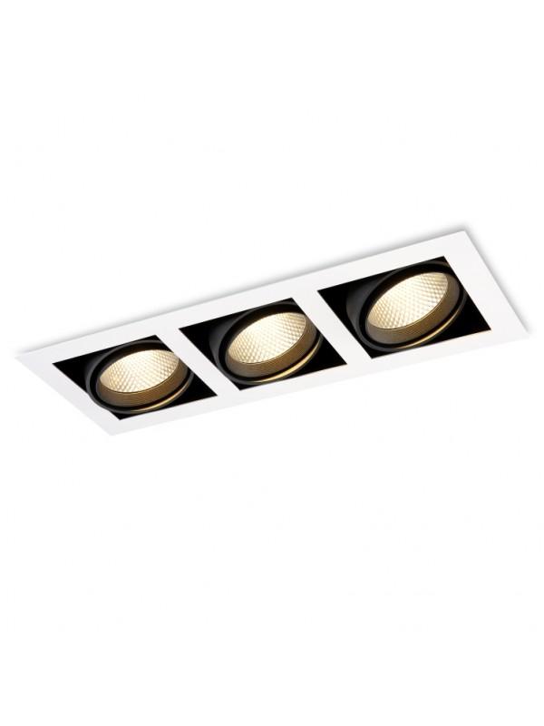 Lampă Spot Grile Triplu JLDC213-28W