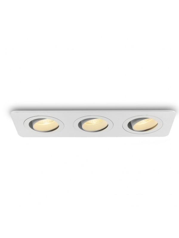 Lampă Spot incastrat triplu  JLDC996-WT