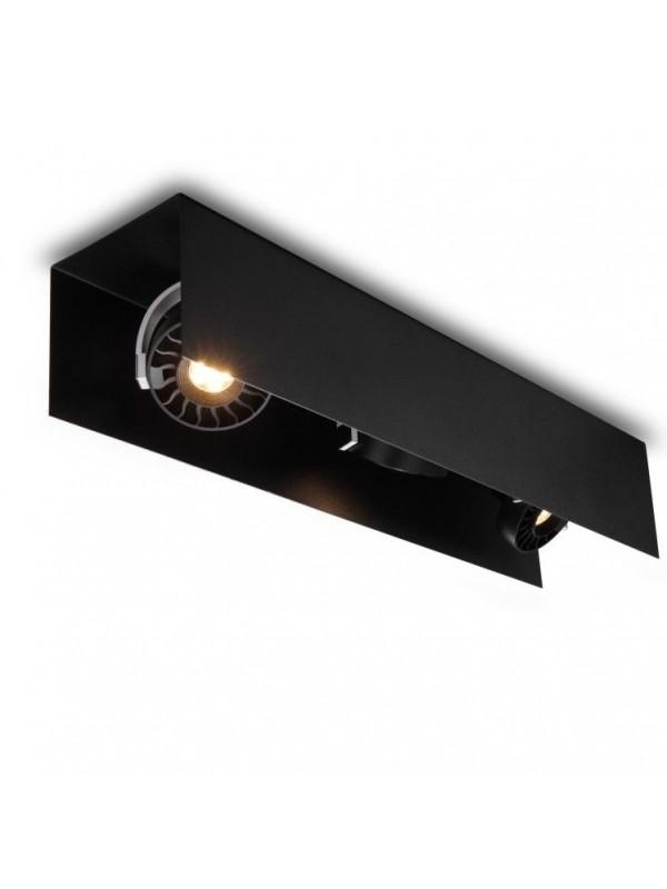 Lampă Spot Triplu JLSP162-BK