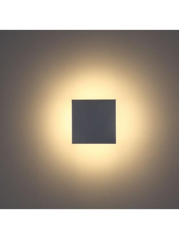 Lampă perete pătrată JLWA295A - Negru